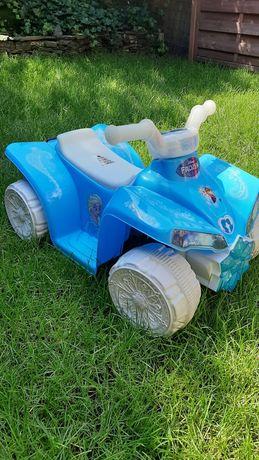 Samochodzik quad na akumulator Elza dla dziewczynki