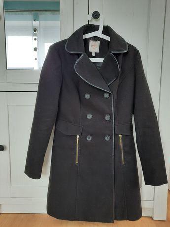 Płaszcz damski czarny Clockhouse s