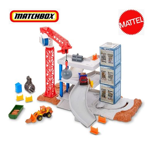 Matchbox Downtown Demolition Playset FWV08 Хот Вілс Матчбокс