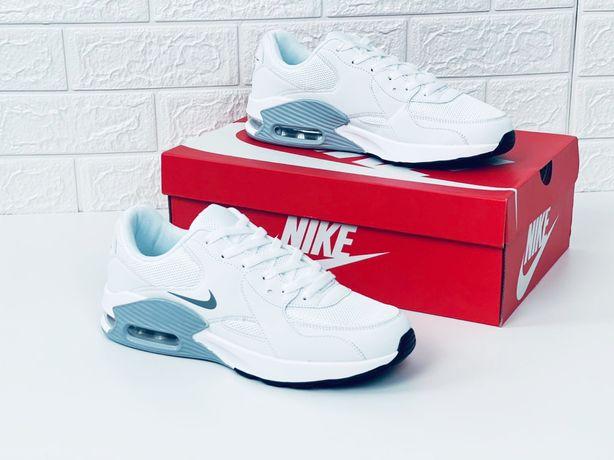 Nike air max excee amd кроссовки мужские летние найк амд сетка белые к