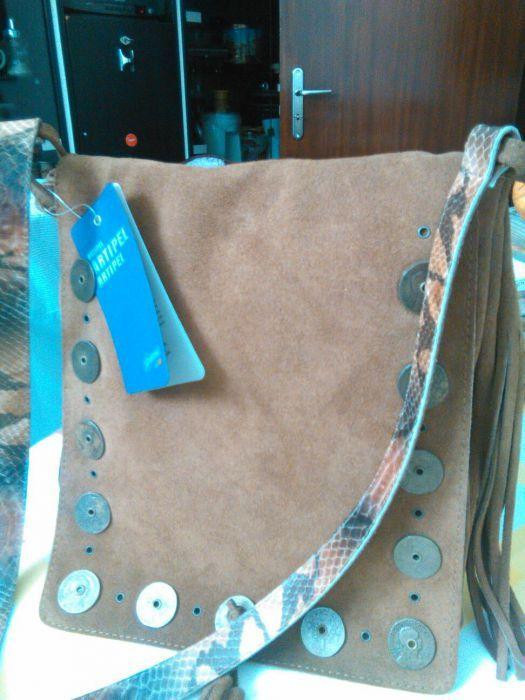Vendo mala nova em pele por 60€ Vidigueira - imagem 1