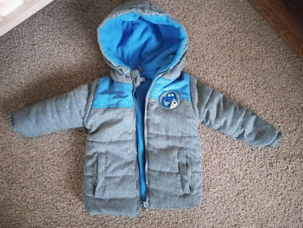 Ciepła kurtka dziecięca 80 cm