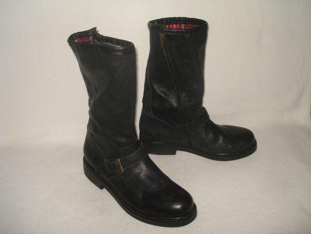 Vagabond 40,5-41 р. крутые демисезонные кожаные ботинки