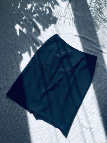 Czarna ołówkowa spódnica 42 XL