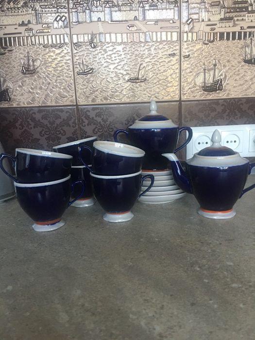 Чайный сервиз СССР 6 персон Орехов - изображение 1