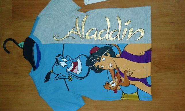 Disney*Bluzka dla chłopca,rozm.104*Alladyn
