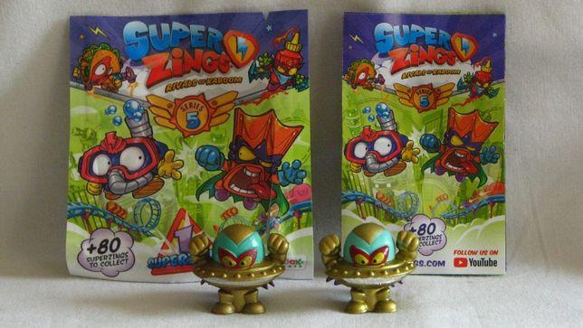 Super Zings - złoty - Alien Bandit - ufo - seria 5 nowe z saszetką