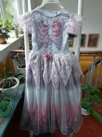 Карнавальний костюм монстер хай ведьма привидение костюм на хелоуин