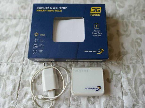 Мобильный 3G роутер AVENOR V-RE500 (REV.8)