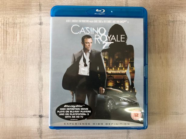 Blu Ray Movie James Bond 007 Casino Royale - Filme Blu Ray - Inglês