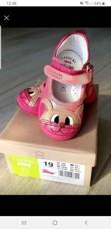 Sandały dla dziewczynki rozm 19 Lasocki kids