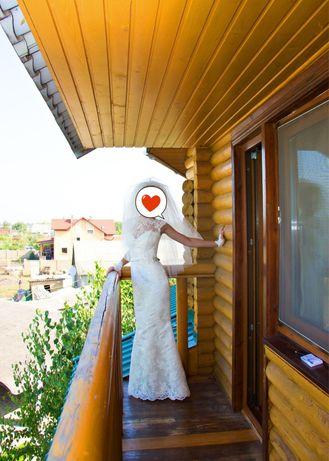 Свадебное платье в размере XS/S