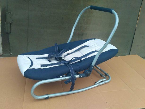 Детский шезлонг, лежак с ручкой TAKO кресло качалка