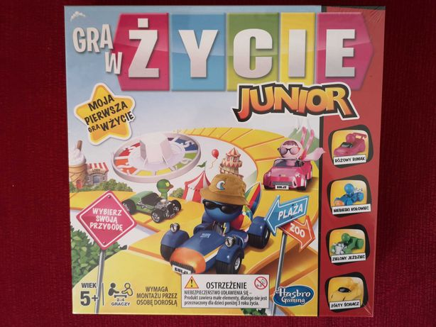 Gra w życie Junior nowa w folii Hasbro