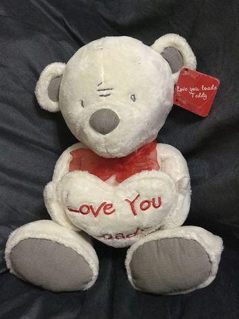 Оригинальное признание в любви, мишка Тедди  для любимого человека