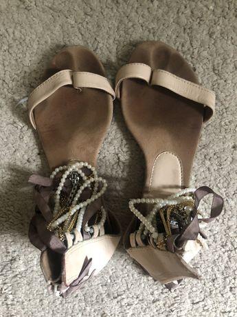 Sandałki damskie topshop