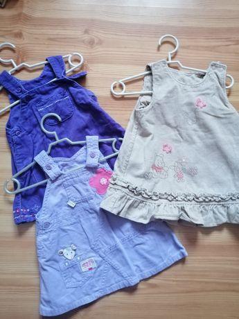 Zestaw 3 sukienek