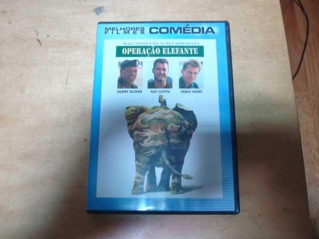 dvd original operaçao elefante raro