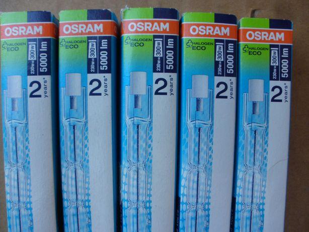 Lâmpadas de halogéneo R7s 114mm tubular - Osram -ECO de 230V / 230W