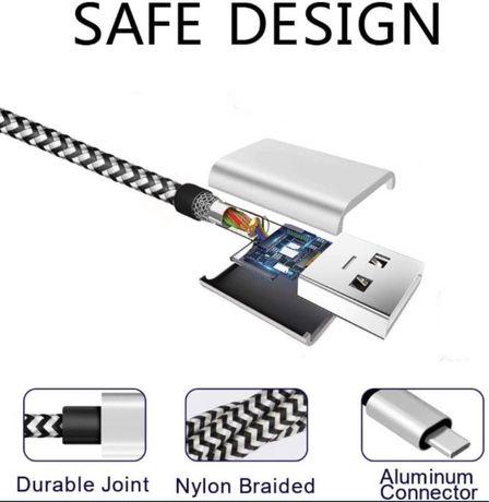 Зарядный кабель USB- TYPE C 1 m