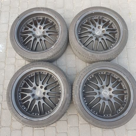 """Felgi aluminiowe 18"""" z oponami Barum 235/40/18 audi a4 b6 b7 b8 5x112"""