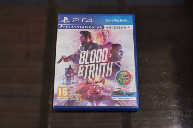 Blood & Truth Ps4 | PS VR