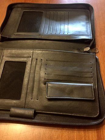 Etui na tablet lub inny sprzęt, skóra,nowe doskonałe na prezent