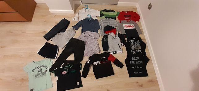 Paka ubrań, ubranka dla chłopca 5-6 lat rozm. 116