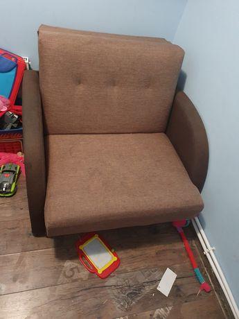 Zamienię 2 fotele rozkładane na łóżko pietrowe
