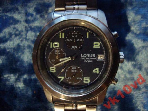Мужские часы-хронограф LORUS V657-X052(Япония)