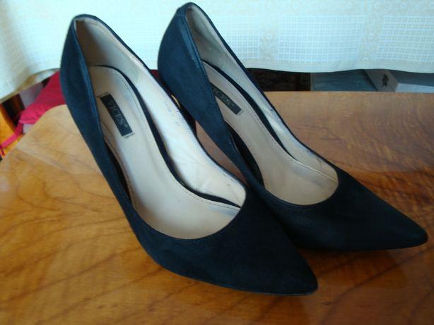 Buty czarne szpilki 37 eleganckie