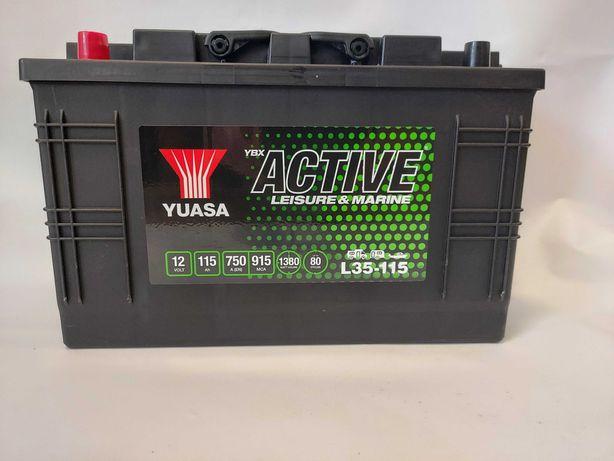 Akumulator do łodzi 12v 115Ah 750A 1380Wh YUASA L35-115