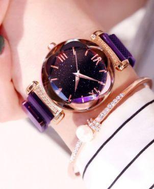Женские часы Звёздное небо на магнитной застёжке (Два цвета)