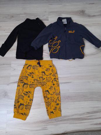 Spodnie plus golfik i bluza dla chłopca