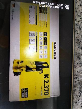 Máquina lavar alta pressão nova caixa