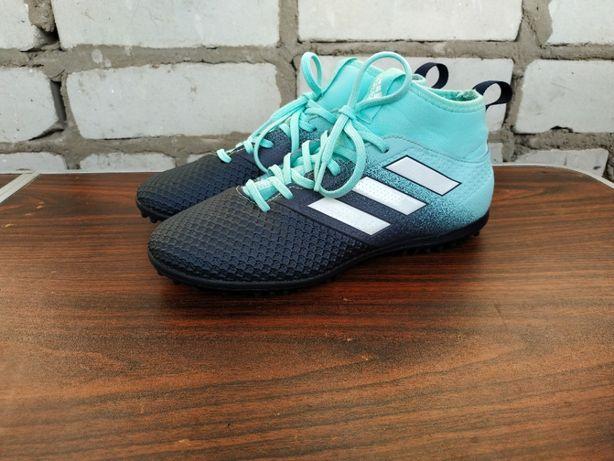 Футзалки бампы кроссовки сороконожки adidas ace tango 17,3 tf s77083,