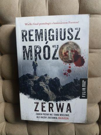 """Sprzedam lub zamienię książkę """"Zerwa"""" Remigusza Mroza"""