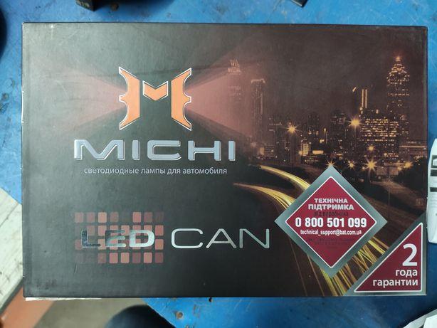 Led (лед) лампы с обманкой Michi H7