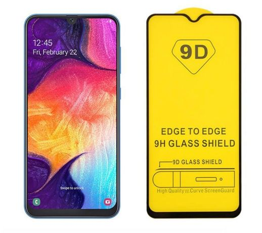 Szkło Hartowane Pełne 9D do Samsung A40 A50 A70 Huawei P20 Lite Mate