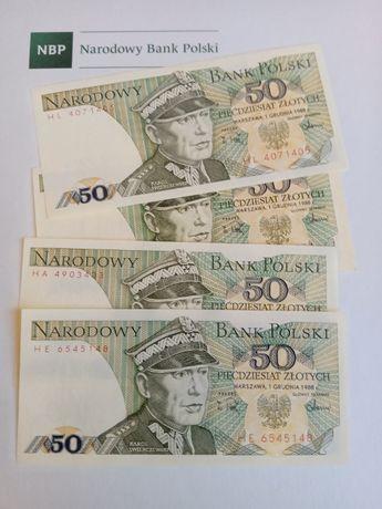 Banknot 50 zł PRL - UNC/UNC-. Piękny stan!