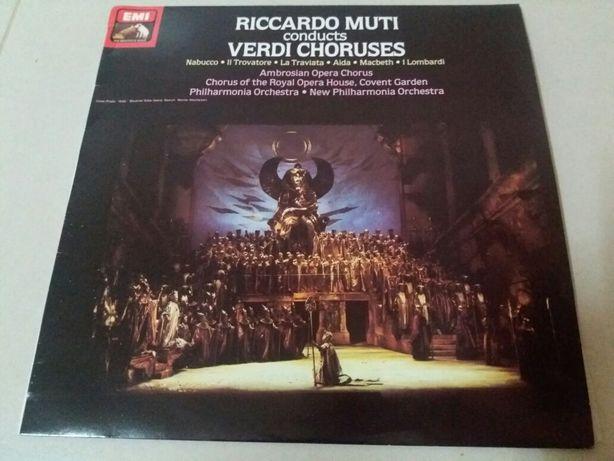 LP Vinil Riccardo Muti conducts Verdi Choruses