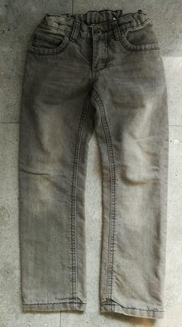 PEPPERT'S spodnie jeans ocieplane 6-7l 122cm