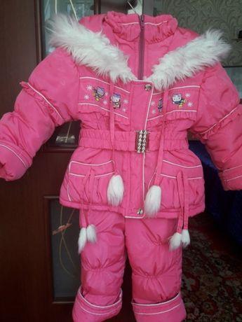 Зимний костюм 1-3года