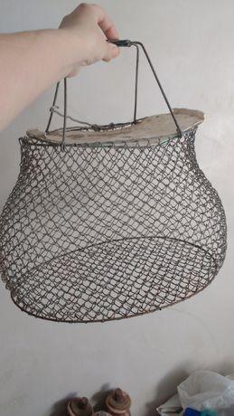 Сетка садок для рыбы