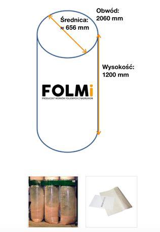 Worki do odciągu trocin 1030x1200 mm Fi 656 mm regr bezbarwny 10szt