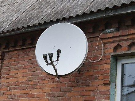 Супутникова тарілка (комплектна) 3 шт.