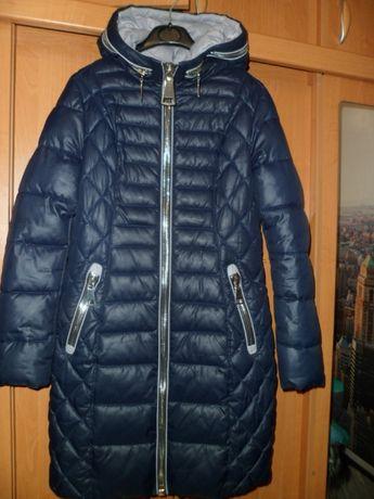Куртка пальто зимняя ТЁПЛАЯ S-М 42-44 Состояние НОВОЙ! В ИДЕАЛЕ!