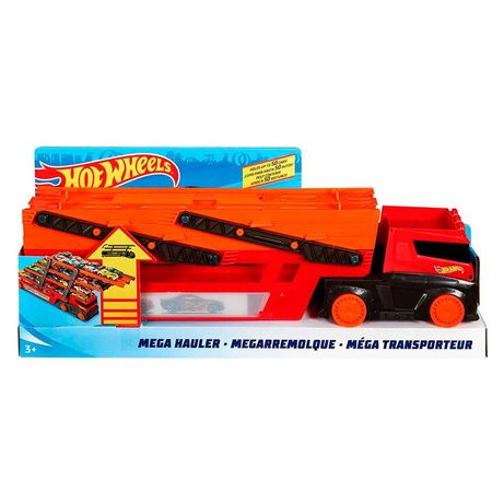 Машинка Hot Wheels Action Мега-транспортер (GHR48)