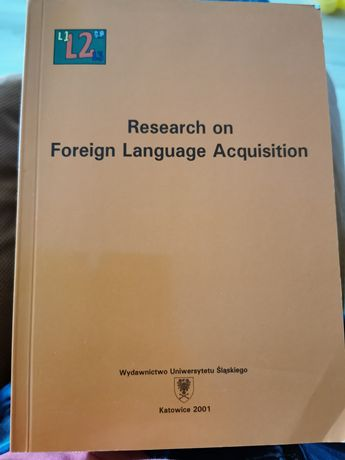 Reasearch on foreign language acquisition