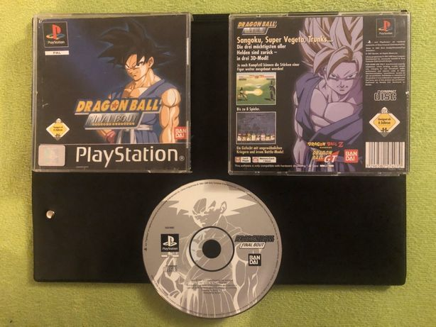 Dragon Ball Finał Bout, PSX, PS1, PlayStation
